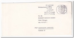 Duitsland 1965, Letter From Eutin To Giengen ( Rose ) - Brieven En Documenten