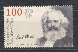 Kirgistan 2018 MNH** Mi. Nr. 93 200 Year Birth Of Karl Marx - Kirgisistan