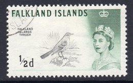 Falkland Islands 1966 Birds Definitives ½d Sideways Watermark, Used, SG 227 - Falklandeilanden