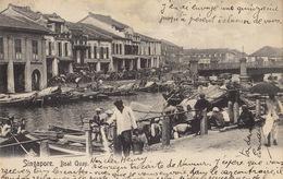 Carte Singapour Singapore Boat Quay - Singapour