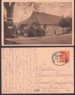 Bärenfels Bei Kipsdorf Gasthof 1922 Mit Bahnpostst. Hainsberg - Kipsdorf ZUG 2929 Nach Zwiesel Bei Berggießhübel - Kipsdorf