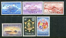 Tonga 1962 Officials - Centenary Of Emancipation - VERY RARE - Set MNH (SG O11-O16) - Tonga (...-1970)
