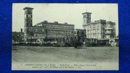 Osborne-House North Front Where Queen Victoria England - Cowes