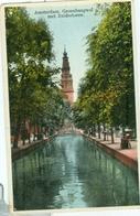 Amsterdam 1935; Groenburgwal Met Zuidertoren - Gelopen. (Uitgever?) - Amsterdam