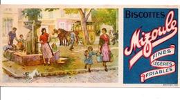 BUVARD BISCOTTES MIZOULE - Carte Assorbenti