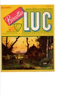 BUVARD BISCOTTES LUC - HAMEAU - Carte Assorbenti