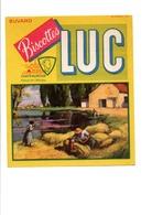 BUVARD BISCOTTES LUC - LA MOISSON - Carte Assorbenti