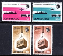 ANTIGUA - 1969 CARITFA CARIBBEAN FREE TRADE AREA ANNIVERSARY SET (4V) FINE MNH ** SG 230-233 - 1960-1981 Ministerial Government