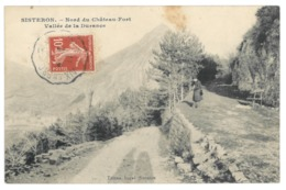 04 Sisteron, Nord Du Chateau, Vallée De La Durance (8619) - Sisteron