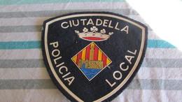 Old Vintage Police Patch - Police