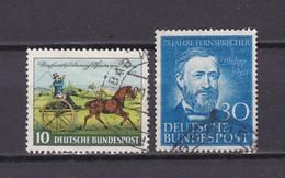 BRD - 1952 - Michel Nr. 160/61 - Gest. - 21 Euro - BRD