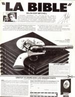 "PUB La BIBLE Selon EDDY MITCHELL "" LE FAR WEST "" 1980 - Books, Magazines, Comics"