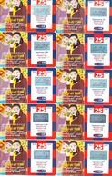"""LOTTO 37 DI N° 10 SCHEDE PREPAGATE & RICARICHE """"TIM LA SAI DI TIM"""" TUTTE DIVERSE - Italia"""