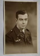 Ancienne Photographie Portrait Militaire Armée De L'air Photo A. Albert Paris - Personnes Anonymes