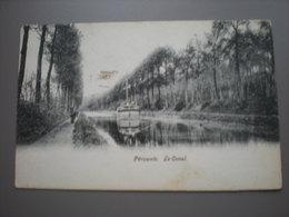 PERUWELZ - LE CANAL - PENICHE - HALAGE - Péruwelz