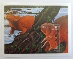 Bhutan 1999**Mi.bl.391. Dinosaur , MNH [13;64] - Vor- U. Frühgeschichte