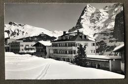 Mürren Skispur/ Dorfansicht Mit Lauberhorn - BE Berne