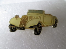PIN'S    CITROEN  TRACTION  CABRIOLET - Citroën