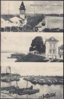 AK Wittenberge Hafenpartien Restaurant, Gelaufen 1919 - Wittenberge