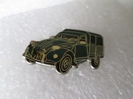 PIN'S    CITROEN  2 CHEVAUX FOURGONETTE - Citroën