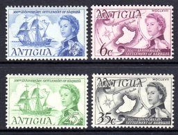 ANTIGUA - 1967 SETTLEMENT ANNIVERSARY SET (4V) FINE MNH ** SG 208-211 - 1960-1981 Ministerial Government
