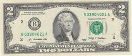 Billet De 2 Dollars Jefferson  2009 Neuf  New York - Federal Reserve Notes (1928-...)