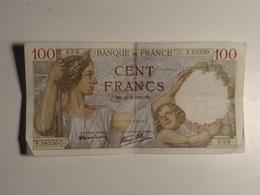 80 1942 100 Francs, Sully, 1942 F28330 BK12=2=1942 N°555 - N. 100 Franchi