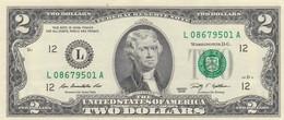 Billet De 2 Dollars Jefferson  2009 Neuf San Francisco - Federal Reserve Notes (1928-...)