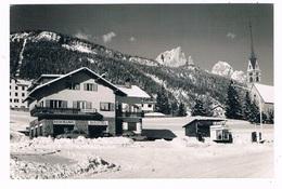 IT-3367   VIGO DI FASSA : Pensione Ristorante Bologna ( Caltex Gasstation, Tankstelle) - Trento