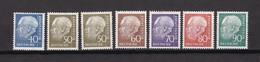 BRD - 1956/60 - Michel Nr. 260/65 - Postfrisch - 38 Euro - BRD