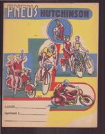 "Protège-cahiers "" Pneus Hutchinson "" - Copertine Di Libri"