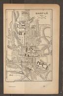 CARTE PLAN 1918 - SAINT LO - HARAS DÉPOT D'ÉTALONS HARAS NATIONAL DÉPOT De La REMONTE ARCHIVES - Topographical Maps