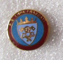 A.S. Lupa Frascati Roma Calcio Insignes De Football Badges Insignias De FÚtbol Fußball-Abzeichen - Calcio