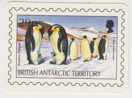 British Antarctic Territory 1993 Calender Card / Penguins (46239) - Andere