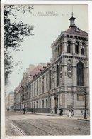 Cpa  Paris Le College Chaptal - Enseignement, Ecoles Et Universités