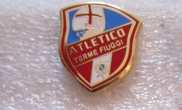 Atletico Terme Fiuggi Calcio Insignes De Football Badges Insignias De FÚtbol Fußball-Abzeichen Spilla - Calcio