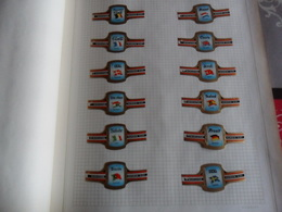 Mercator Toasts FN 1965 N° 1 à 24 - Bauchbinden (Zigarrenringe)