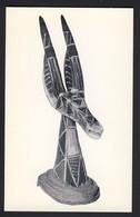 Antelope Headpiece, Wood & Raffia Kurumba, Upper Volta - African Art - Baltimore Museum Of Art Baltimore MD USA - Museos