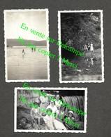 La Source Bleue Malbuisson / Source Du Doubs Mouthe / Pontarlier Doubs / 3 Photos (No CP)  Datées 1937 / 6X10 Cm Env - Pontarlier