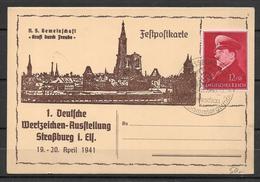 Deutsches Reich  - Post Card 1941 - Germania
