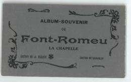 66 Font Romeu. La Chapelle. Carnet De 12 Cartes (8636) - France