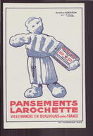 "Buvard "" Larochette "" Pansements ( 21 X 13.5 Cm ) Pliure - Produits Pharmaceutiques"