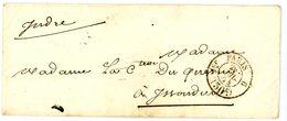 SEINE ENV 1854 1ER PARIS 6 CACHET TAXE 30C - 1849-1876: Période Classique