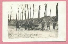 59 - Près De VALENCIENNES - Carte Photo Allemande - Soldats Allemands - Guerre 14/18 - France