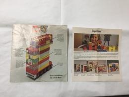 LEGO  CATALOGO DEPLIANT 1973 ITALIANO. - Catalogs