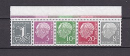 BRD - 1958/60 - Zusammendrucke - Michel Nr. W17 + W 22 - OR - Postfrisch - 50 Euro - BRD
