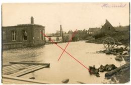 RPPC - Honnecourt-sur-Escaut (59 Cambrai ) - Carte Photo Allemande 1914-1918 WWI - France