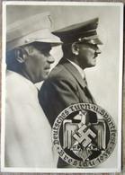 Amtliche Festpostkarte Deutsches Hitler Turn- Und Sporfest SST Mit Marken Breslau 1938 - Deutschland