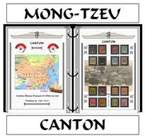 Albums De Timbres à Imprimer   CANTON Et MONG-TZEU - Ohne Zuordnung