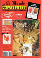Le Monde Des Philatelistes N.467 Octobre 1992,chat Sauvage,judaisme,judaïca Carte Postale,ile De Pâques,coléoptères Taxe - Magazines